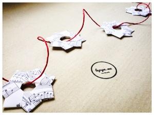 ghirlande di carta