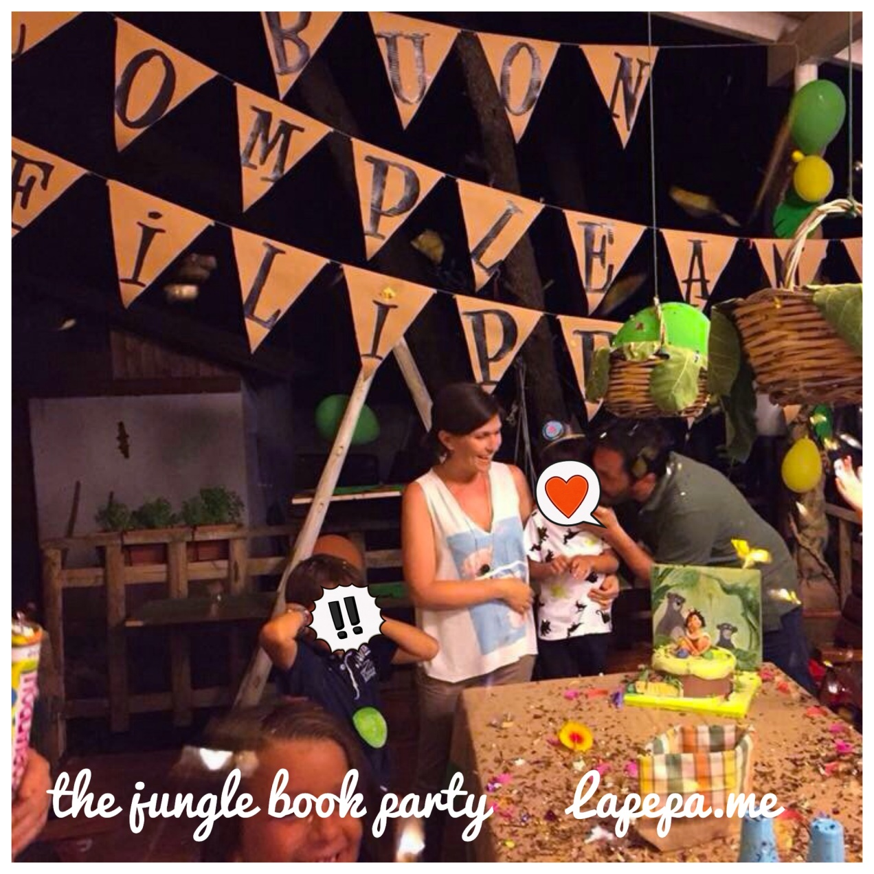 the jungle book party decorations